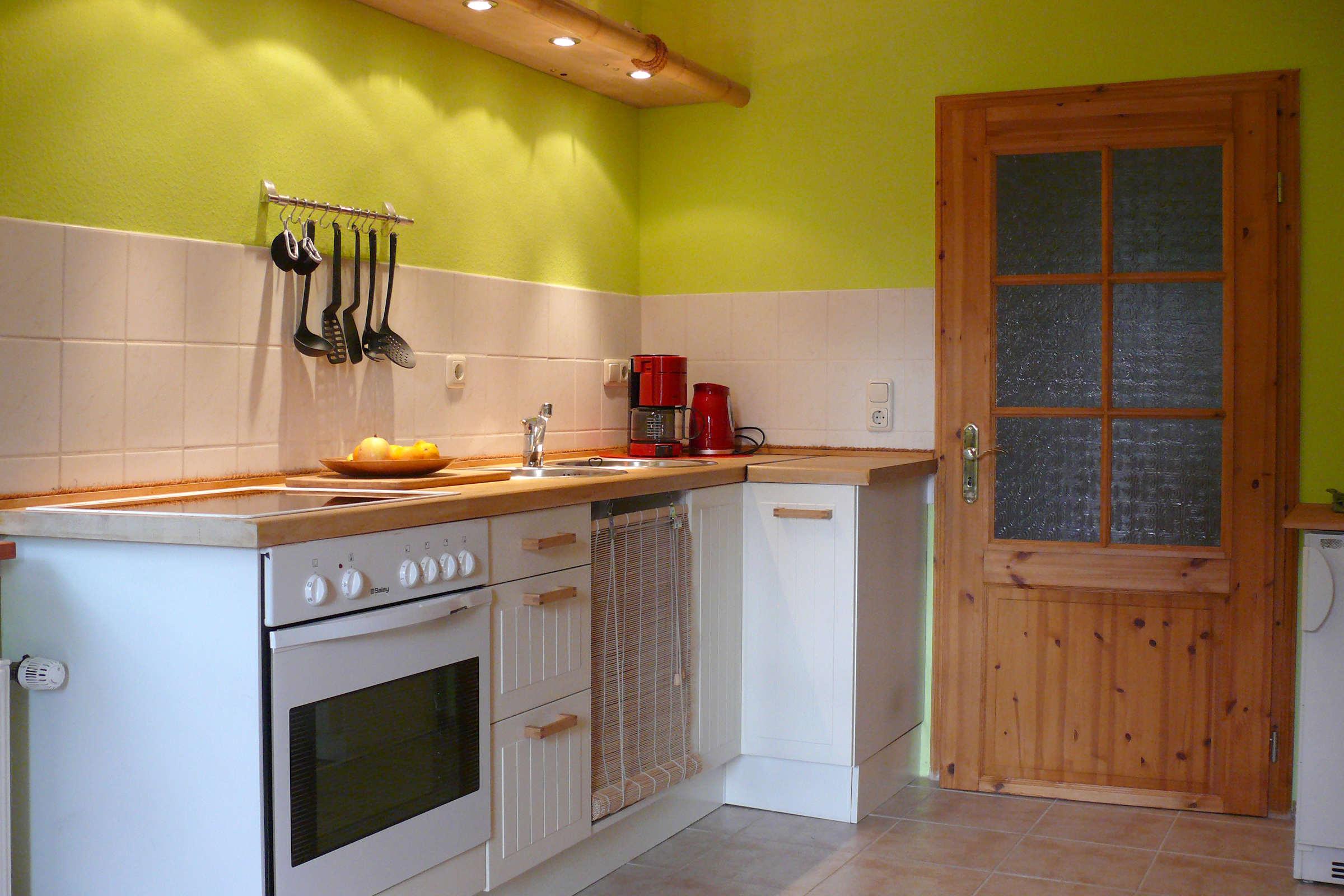Küchenzeile, funktional und modern